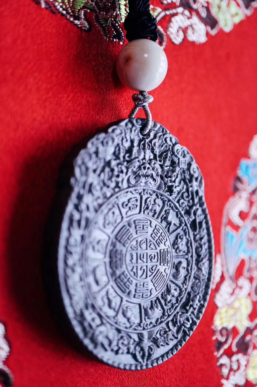 【菩心 陨铁-辟邪神器】拥有一枚陨铁九宫八卦图,就像菩心家永不凋谢的鲜花-菩心晶舍