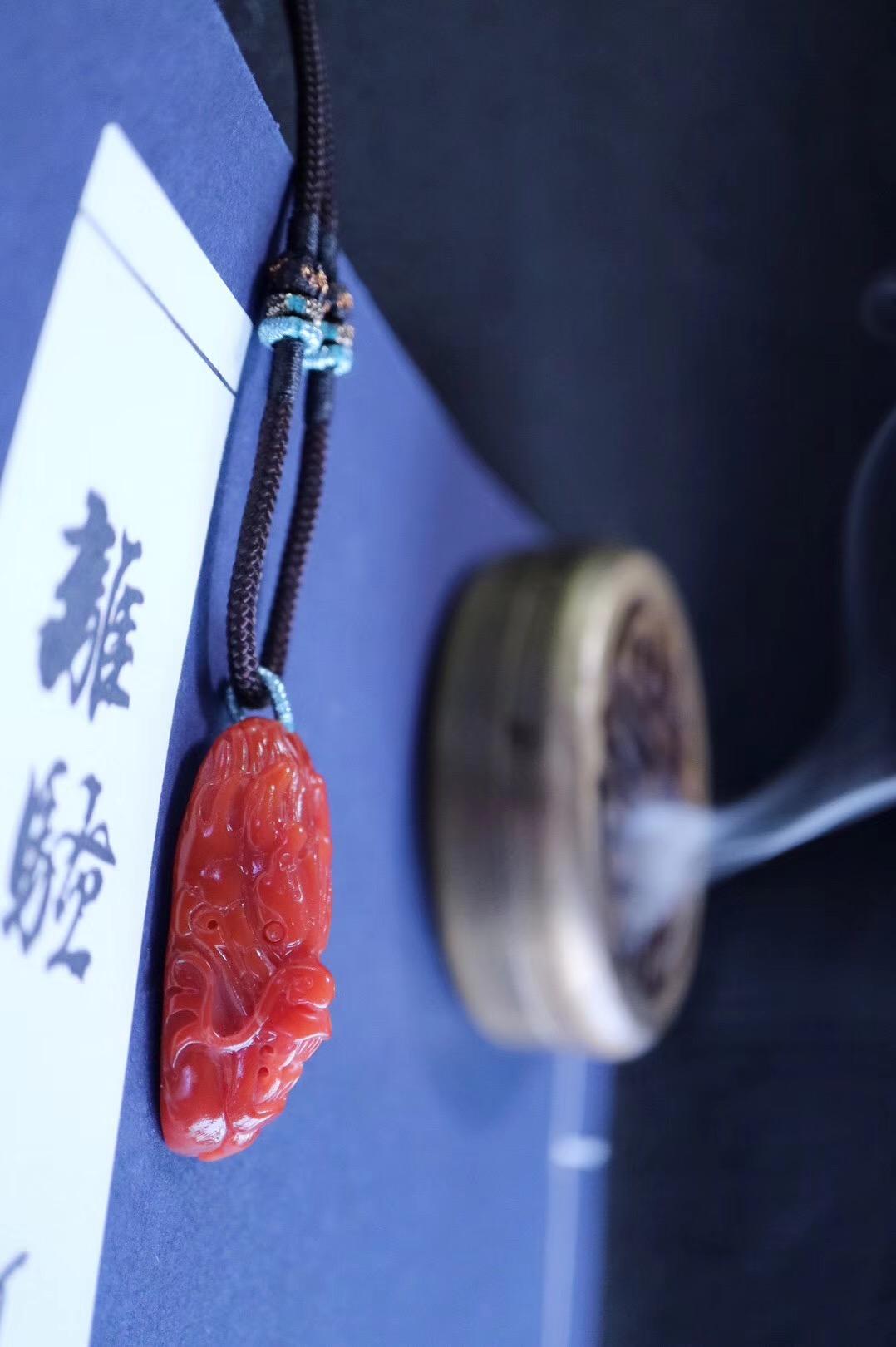 【保山南红&神龙】如此红润,且得且珍惜-菩心晶舍