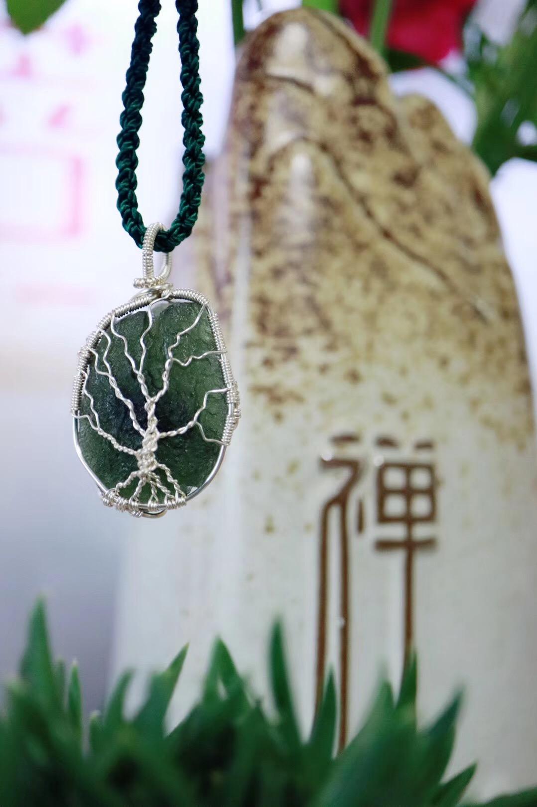 【菩心捷克陨石 | 🌳】生命之树,菩心的经典款-菩心晶舍